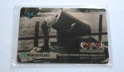 Cpm Sales Promotion Ltd /  Mercurycard  / Mint Sealed Phonecard