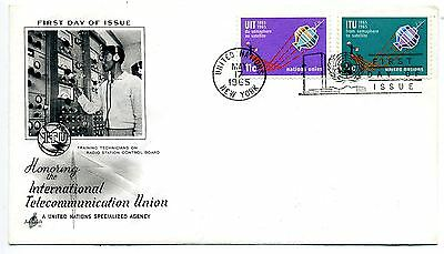 United Nations 1965 ITU First Day Cover