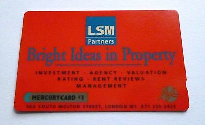 Lsm Partners  / Mercurycard  / Used Phonecard
