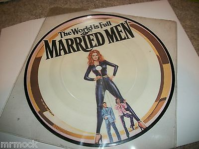 """The World Is Full Of Married Men Vinyl 7"""" 45Rpm Picture Disc"""