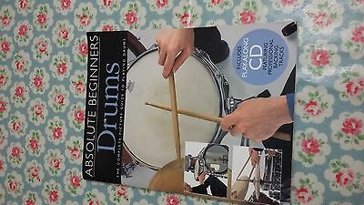 Absolute Beginners Drums book with CD by  Wise Publications