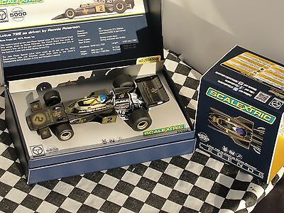 Scalextric Legends Team Lotus 72E   #2 C3703A  Ronnie Peterson Le  1.32  Bnib