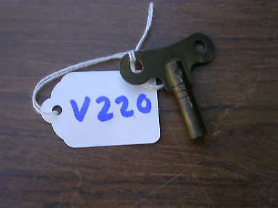 Brass Clock Key