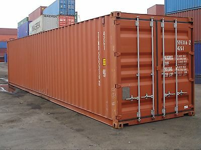 40ft Shipping Container No Vat, £975 Self Storage, Modular,Pre Fab, Insulated