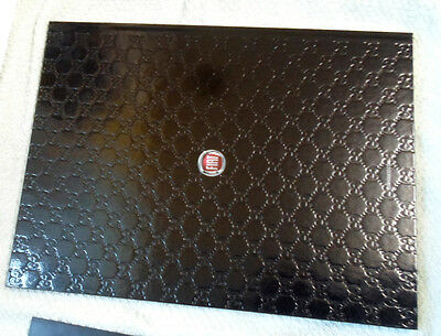 Fiat 500 by Gucci range brochure 2011 + accessories folder + envelope
