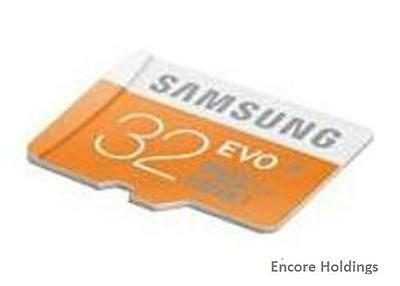 Samsung MB-MP32DAT/WMT 32 GB EVO Class 10 microSD Memory Card With Adapter