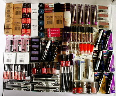 120 Makeup Items Wholesale Joblot Rimmel Maybelline New Stock Make Up Cosmetics