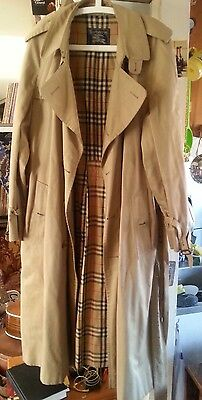 Burberry mac beige Trench coat 52L