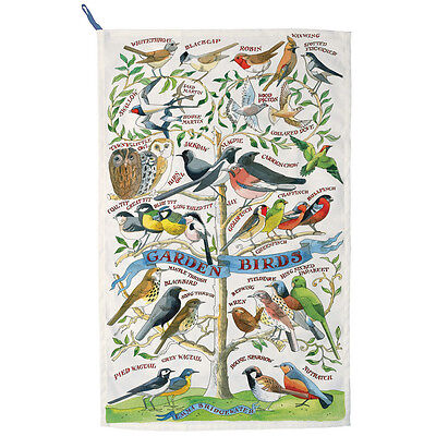 Garden Birs Tea Towel,designed By Emma Bridgewater