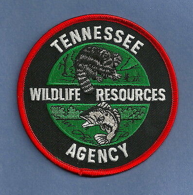 Tennessee State Wildlife Resources Enforcement Police Patch