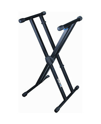 QuikLok T550 Trigger-Lok Double Braced Keyboard Stand (NEW)