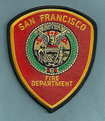 San Francisco California Fire Department Patch
