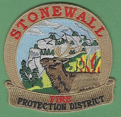 Stonewall Colorado Fire Department Patch