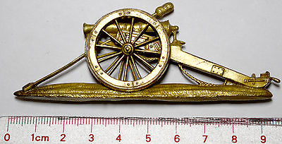 Royal Artillery Officers Cannon Pouch Badge 1860-1871