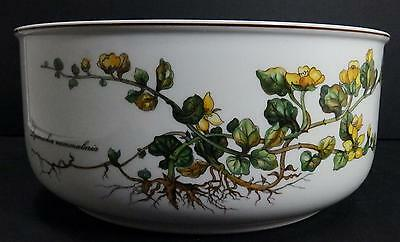 """VILLEROY & BOCH """"Botanica"""" China Round Vegetable Serving Bowl Yellow Flowers 9"""""""