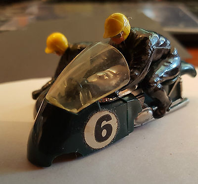 "Scalextric - Triang Vintage Green(Rare) MM/B2 Hurricane ""top only"" excellent con"