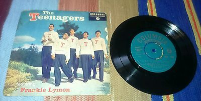 "The teenagers feat.frankie lymon - 7""single ep 1957 vgc/ex"