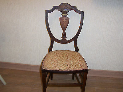 ANTIQUE HALL CHAIR...very attractive chair Collect warwickshire only
