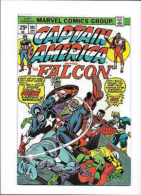 """Captain America #181  [1975 Vg+]  """"the Mark Of Madness!"""""""