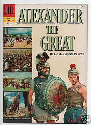 Dell Four Color #688  Alexander The Great