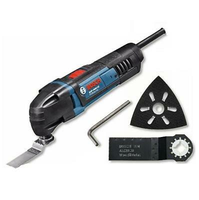 Bosch Gop 2000 Ce 240 Volt Multi Purpose Cutter Tool With Sanding Pad And Blade