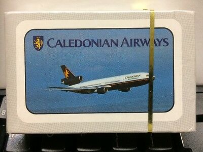 Caledonian Airways MINT Unopened Pack of Playing Cards - Tristar Aircraft