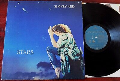 Simply Red Stars Lp Eastwest (1991) Ex- +Inner Wx 427 Germany