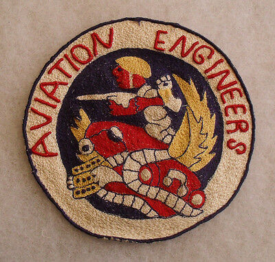 """Very Rare Wwii Theater Made Aaf """"aviation Engineers"""" Appears Philippine Emb."""