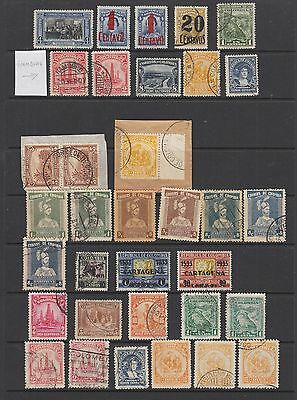 Colombia 1930 - 1946 collection, 159 stamps