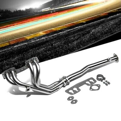 Stainless Steel Exhaust Header Manifold For 90-95 Toyota Pickup Base/DLX/4Runner