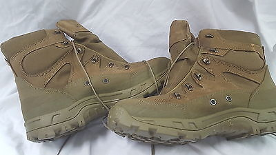 77a9ffb9df5 MILITARY COMBAT BOOTS Hot Weather Mountain Wellco 14.5 R