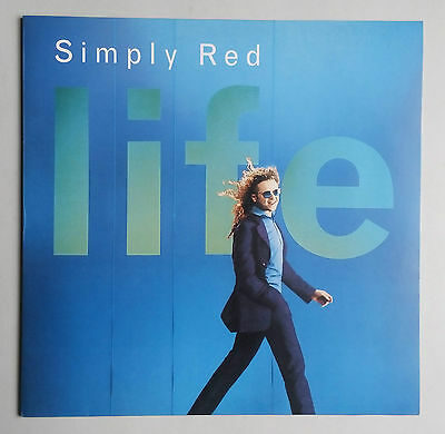 Simply Red - Life - Vinyl LP Germany 1995