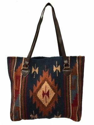 Maya Ladies Tote Purse Handwoven Wool Southwestern Classic Zapotec Design A