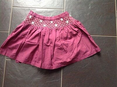 7-year old burgundy skirt from Next. Excellent condition