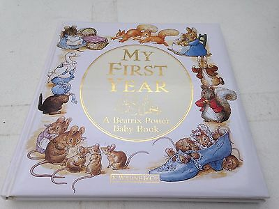 New My First Years A Beatrix Potter Baby Record Book F Warne & Co