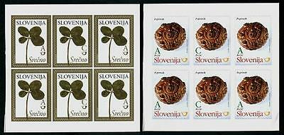 SLOVENIA Sc.# 927-28 Christmas 2011 & New Years 2012 Stamp Booklets