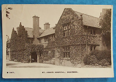RP Postcard POSTED 1916 ST.JOHNS HOSPITAL DROITWICH WORCESTERSHIRE