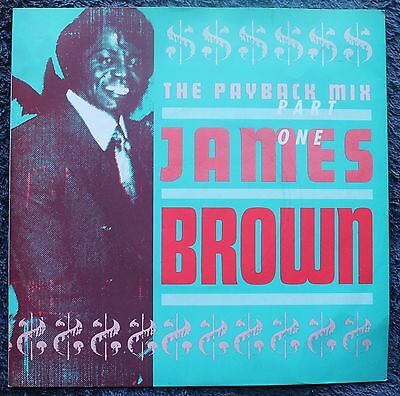 """James Brown The Payback Mix Part One Cut-up/DJ, Funk Hip Hop 7 """" INCH 45RPM"""