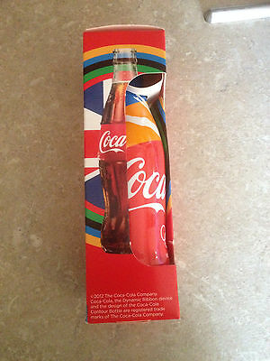 Rare Limited Edition Coca Cola 2012 Olympics Swimming Bottle Sealed