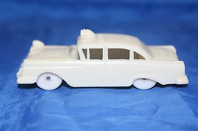 F & F Mold 1957 Ford State Police Highway Patrol Post Cereal Car in WHITE EX