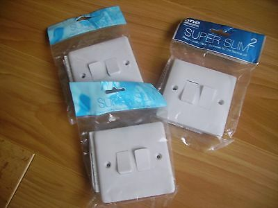 double light switch x3 super slim new