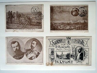 France: World War I - Fine Selection Of 47 Postcards - Mint And Travelled - Rare