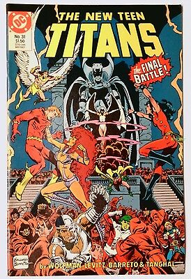 The New Teen Titans #31 (May 1987, DC) VF/NM