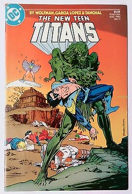 The New Teen Titans #11 (Aug 1985, DC) FN/VF