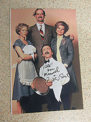 ANDREW SACHS 'Manuel' Fawlty Towers Hand Signed Photograph