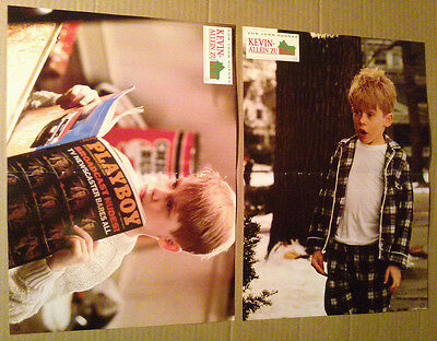 Lobby Card Posters Lot~ HOME ALONE ~1990 ~Macaulay Culkin