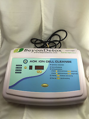 BeyonDetox AOK ION Cell Cleanse AOK-0508 Main Unit ONLY No Accessories Tested