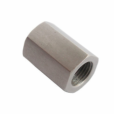 "New -Stainless steel Female Coupling Adapter Fitting 1/8"" NPT PIPE SIZE"