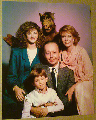 8x10 Photo ~ ALF TV Cast ~Max Wright ~Anne Schedeen ~Andrea Elson ~Benji Gregory