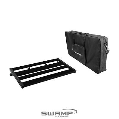 SWAMP Medium Guitar Effect Pedal Board Bridge with Padded Carry Bag